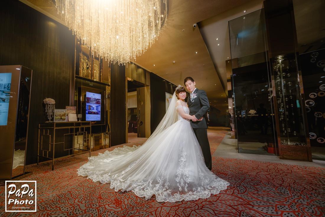PAPA-PHOTO,婚攝,婚宴,中和華漾婚宴,中和華漾,華漾大飯店,婚攝華漾,類婚紗