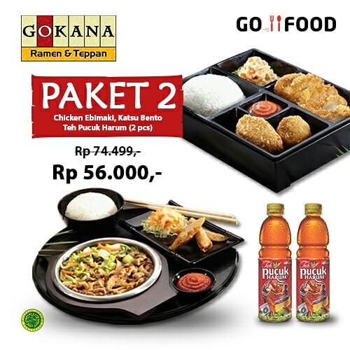Gokana - Promo MAMIMUMEMO Paket 1 & Paket 2 Harga Spesial Pakai GOFOOD