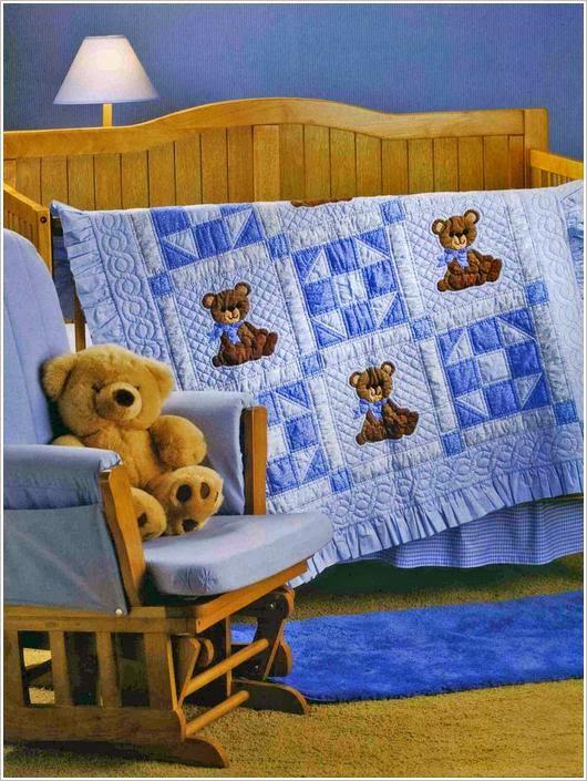 Лоскутное для детей. Пэчворк журнал. Let's Quilt for Baby