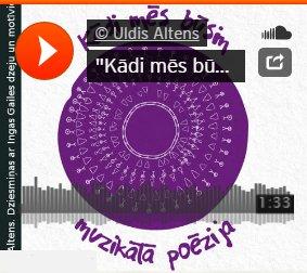 Kādi mēs būsim / Latviešu dziesminieki Latvijā - Uldis Altens - dziesmiņas ar Ingas Gailes dzeju