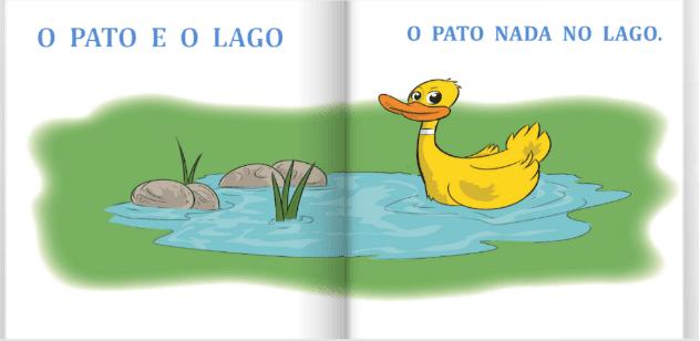 O pato e o lago | livro infantil Minha Primeira Leitura