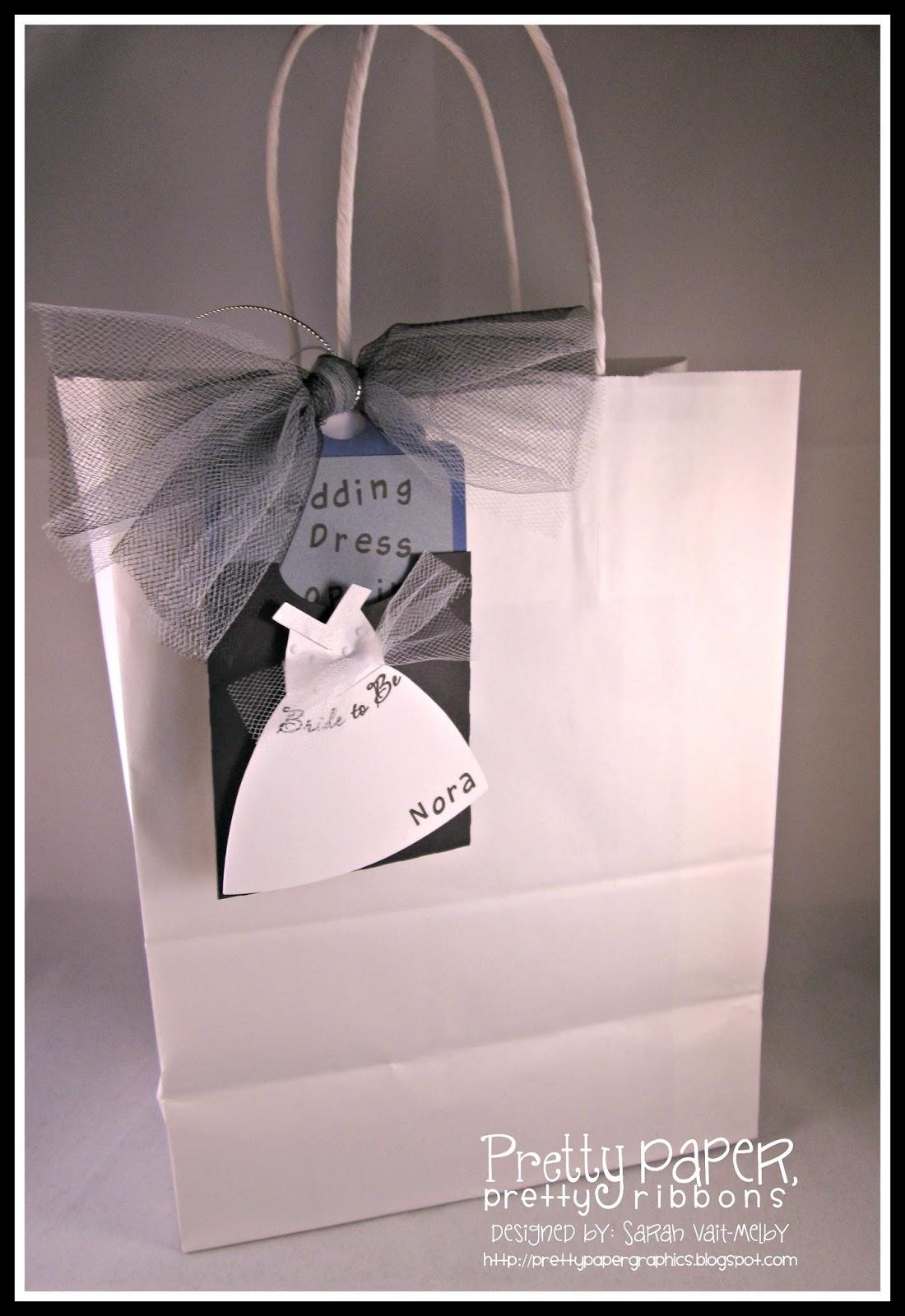 Wedding Dress Shopping Gift Bags