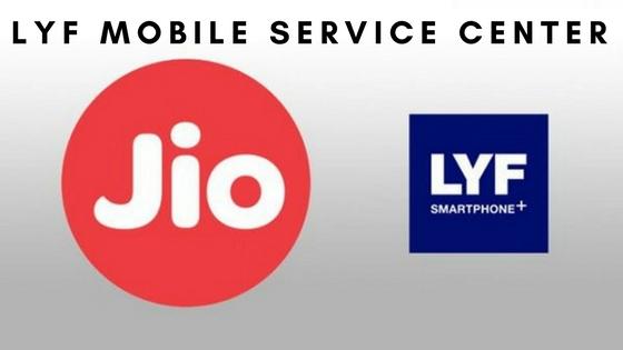LYF Mobile Service center in Chennai