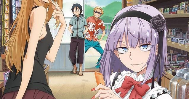 Winter Anime Girl Wallpaper Primer V 237 Deo Promocional Del Anime Dagashi Kashi Otaku