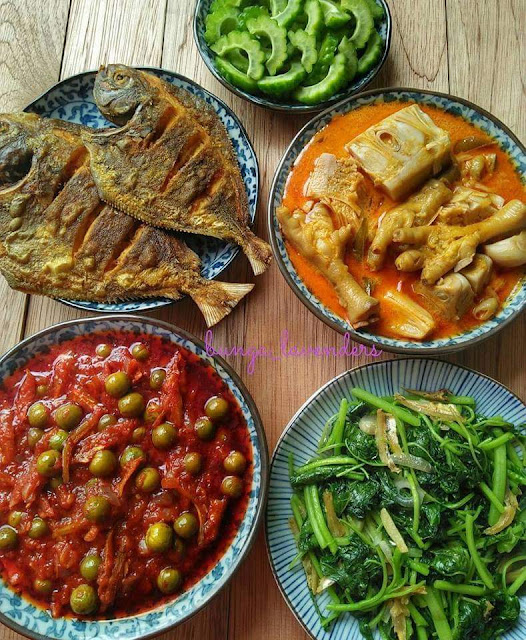 30 Idea Padanan Lauk Pauk Untuk Masakan Kampung, masakan kampung, masakan kampung style, masakan kampung yang sedap, idea untuk menu masakan kampung, padanan lauk untuk masakan kampung, kampung style, sedapnya masakan kampung, menu-menu masakan kampung, lauk-lauk kampung,