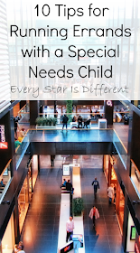 10 tips for running errands with a special needs child