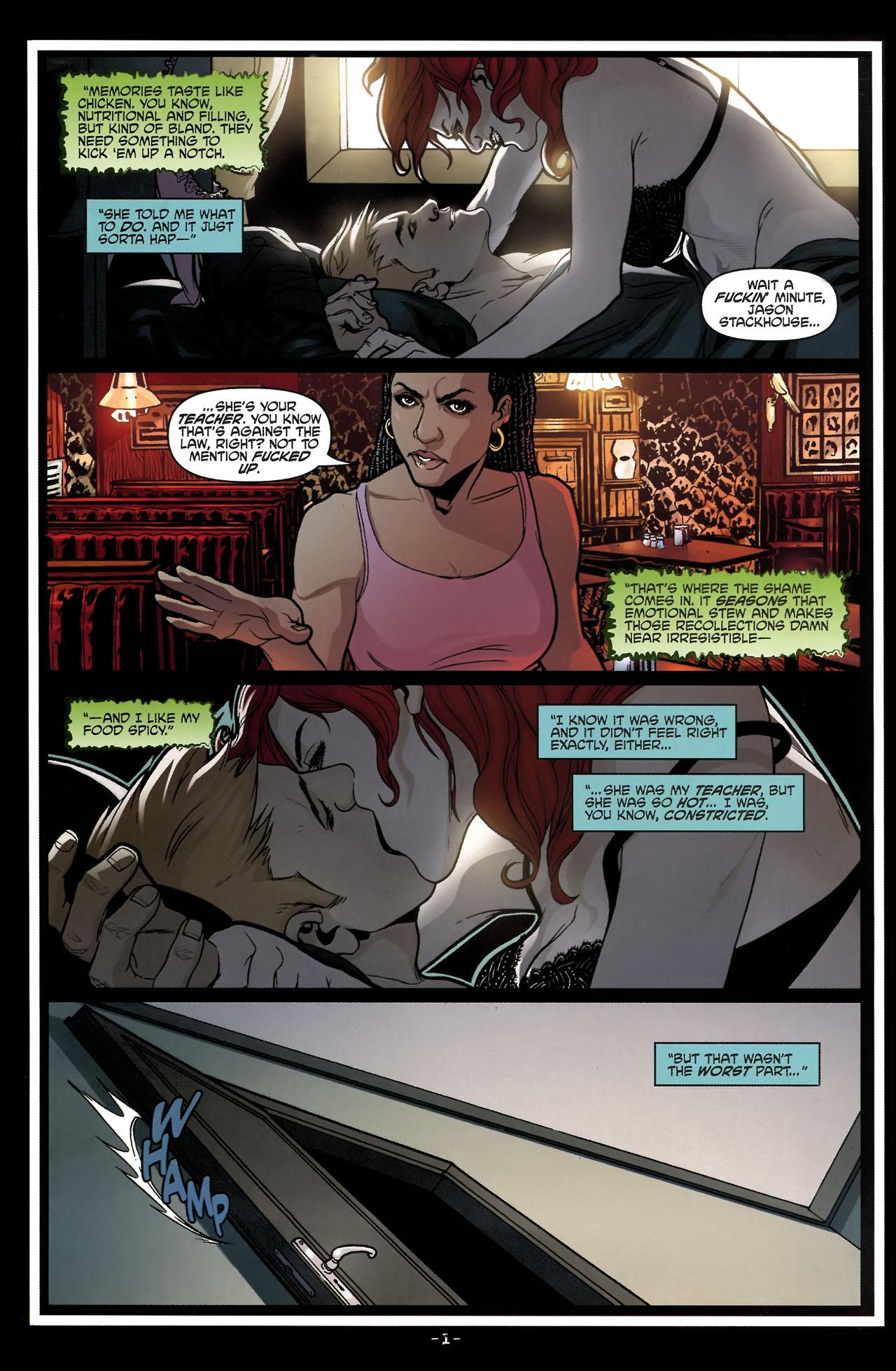 Read online True Blood (2010) comic -  Issue #5 - 4