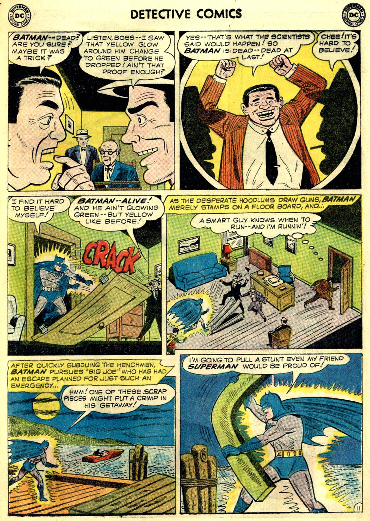 Read online Detective Comics (1937) comic -  Issue #268 - 13