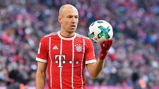 Robben là chân sút không thể thiếu của Bayern.
