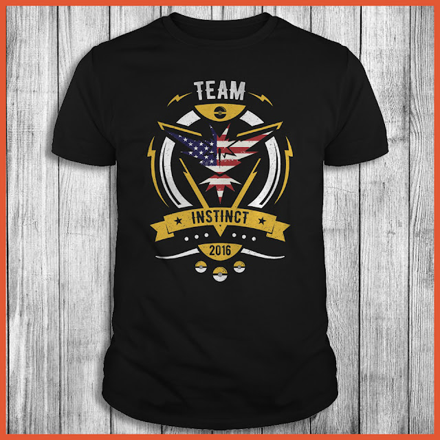 Team Instinct USA Flag - Pokemon GO Shirt