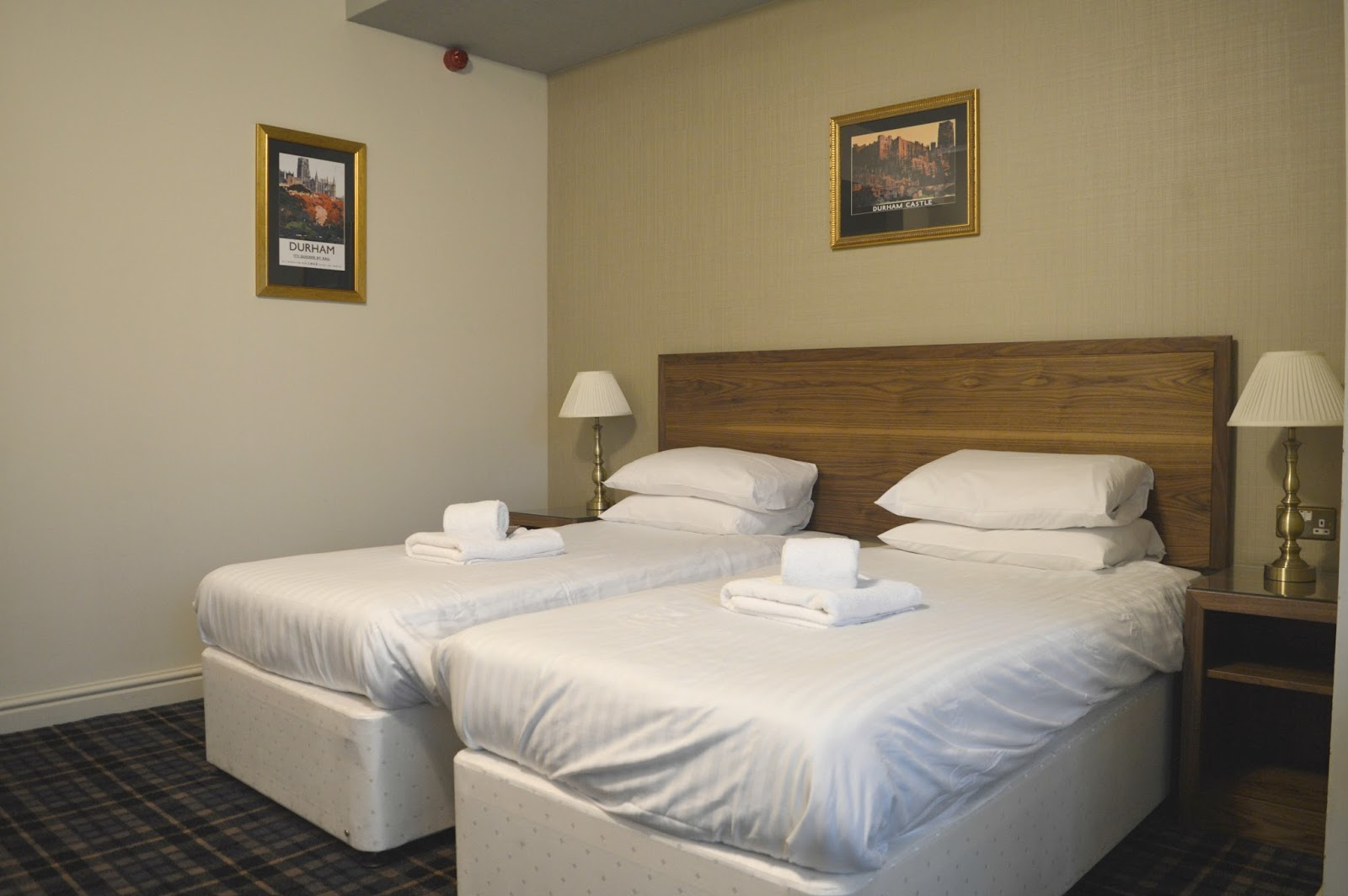 The King's Lodge Inn, Durham Twin Room