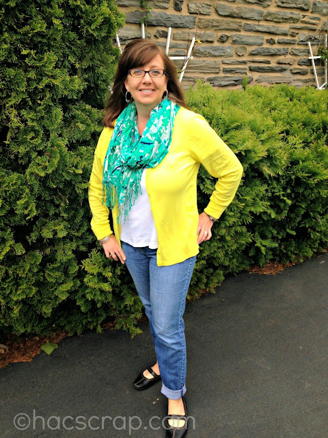 Add a colorful Cardigan to Give your Wardrobe a POP of color for Spring