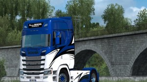 Romain Bonniol Skin Scania 2016