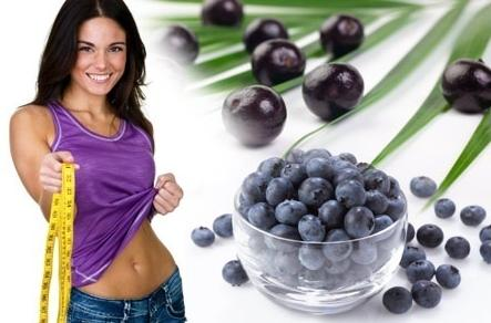 Acai Berry Helps in Losing Weight