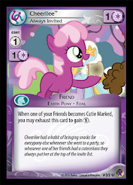 My Little Pony Cheerilee, Always Invited Marks in Time CCG Card