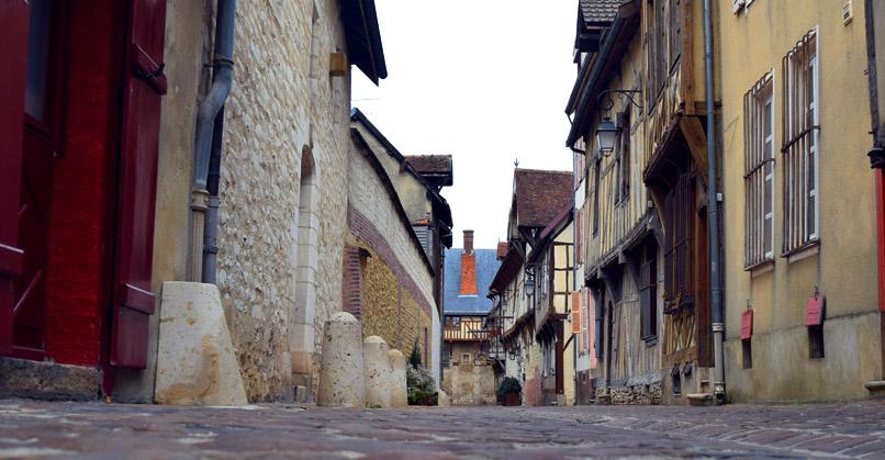 De Middeleeuwse stad Troyes