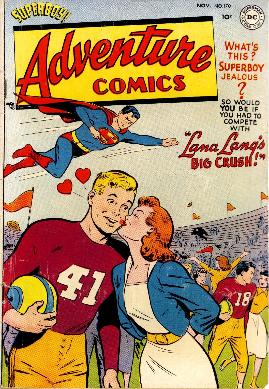 Read online Adventure Comics (1938) comic -  Issue #170 - 1