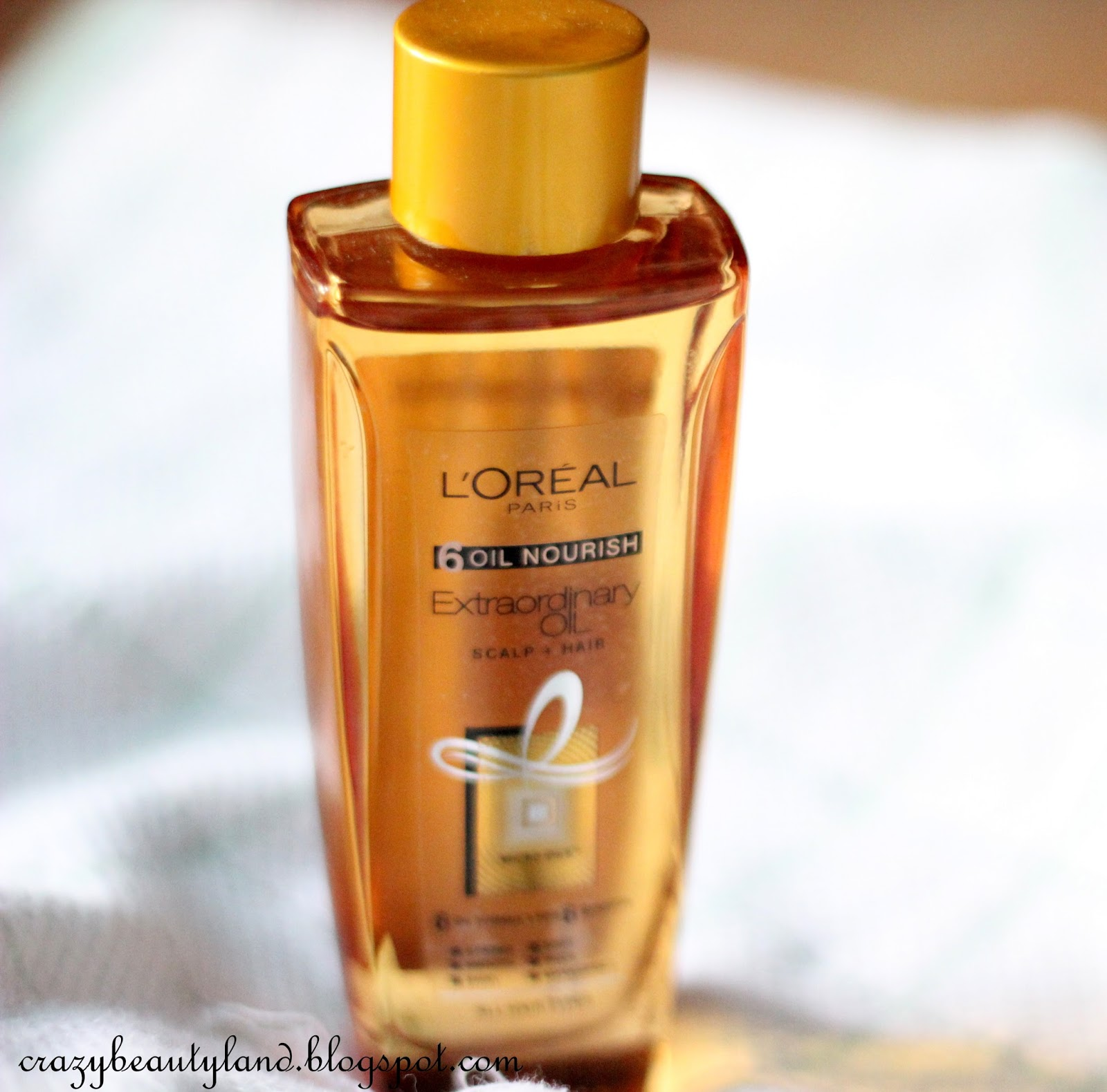 L'Oreal 6 Oil Nourish Extraordinary Oil Scalp+Hair in India - Review,photos,price, how to use it