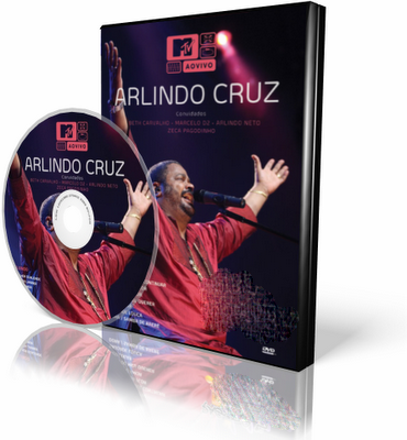 DVD Arlindo Cruz - MTV Ao Vivo (2009)