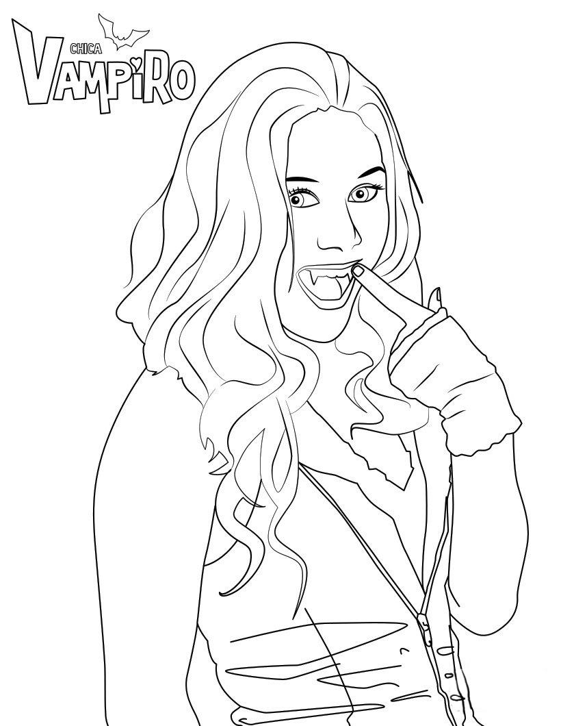 Chica Vampiro Coloriage Daisy Chica Vampiro