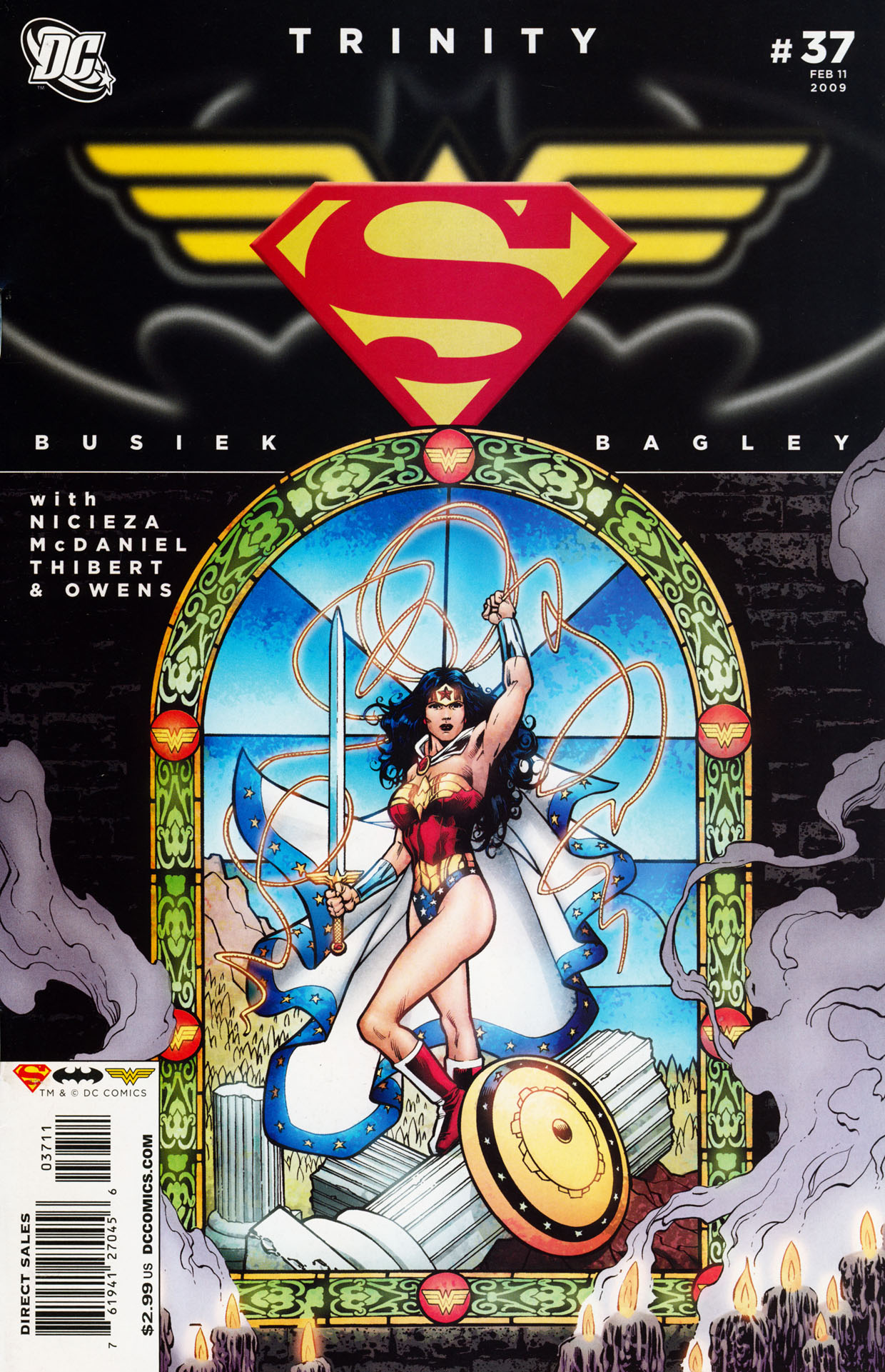 Read online Trinity (2008) comic -  Issue #37 - 1