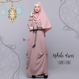 Gamis Valisha Rahila Dress Sunstone