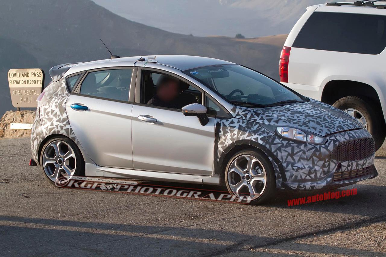 All Types fiesta st horsepower : 2014 Ford Fiesta ST to Pack 180-Horsepower Single-Turbo Engine ...