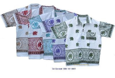 เสื้อสงกรานต์ลายช้าง