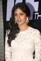 Chandini Chowdary in white Tight dress at Shamanthakamani pre release function ~  Exclusive 058.JPG