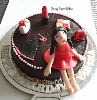 Fashion themed cake