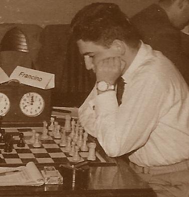 El ajedrecista Lucien Francino Vallet en 1954
