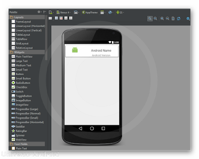 Android Studio - RecyclerView