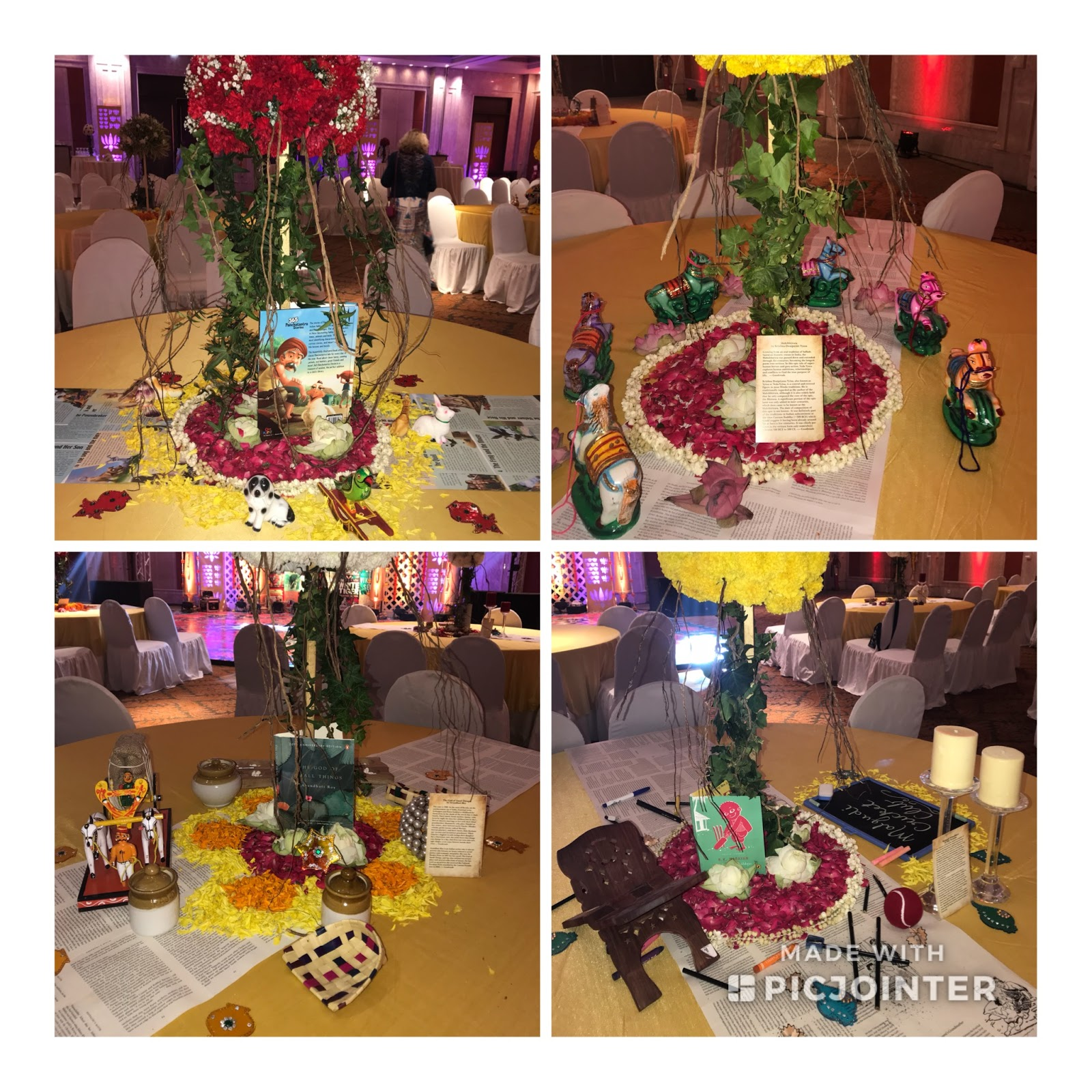 Indian Themed Table Decorations