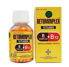 Harga Betominplex Obat Defisiensi Vitamin B Terbaru 2017