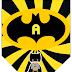 Banderines de Batman con Alfabeto para Imprimir Gratis.