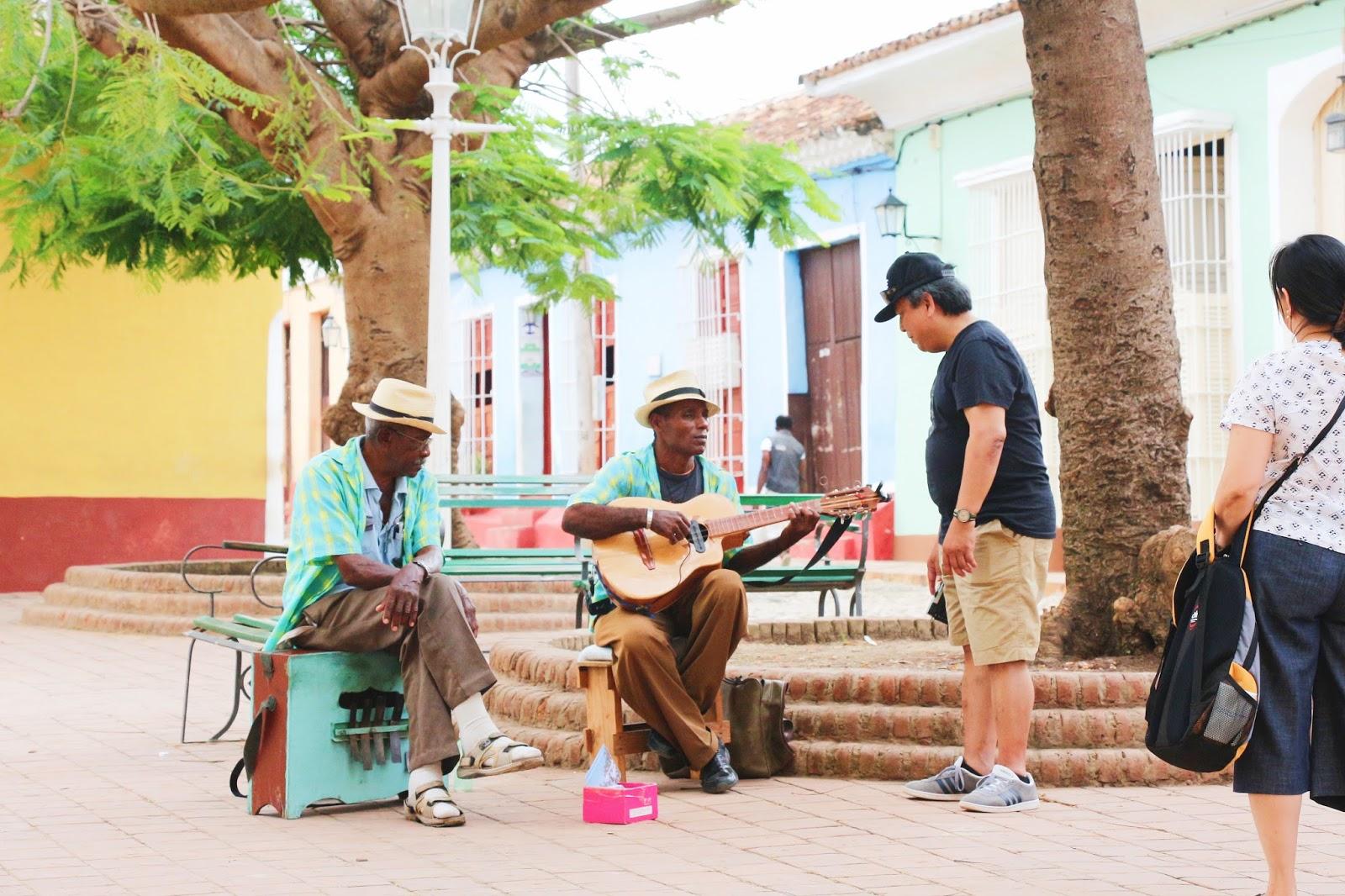Musiciens Cubains à Trinidad