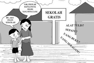 Sekolah Harus Tetap Gratis