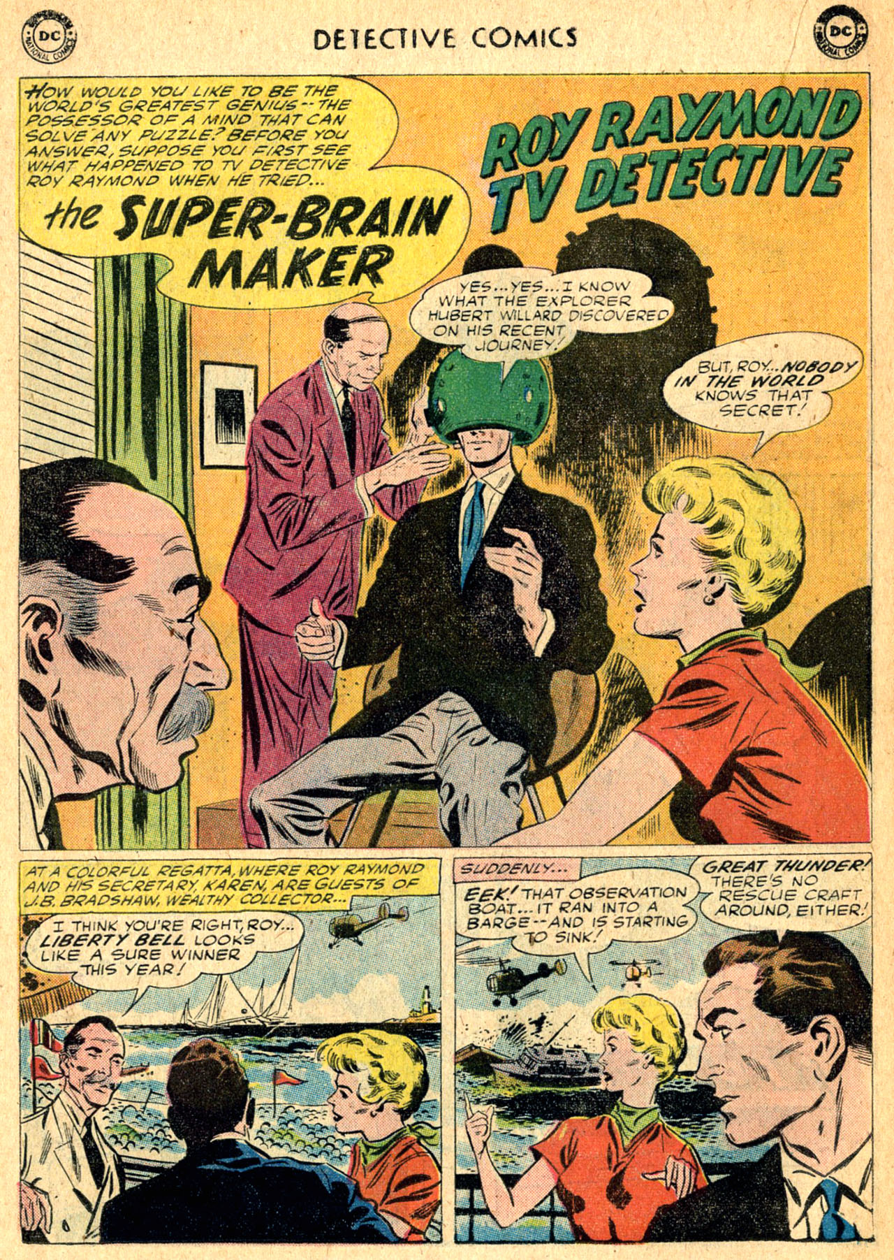 Read online Detective Comics (1937) comic -  Issue #275 - 18