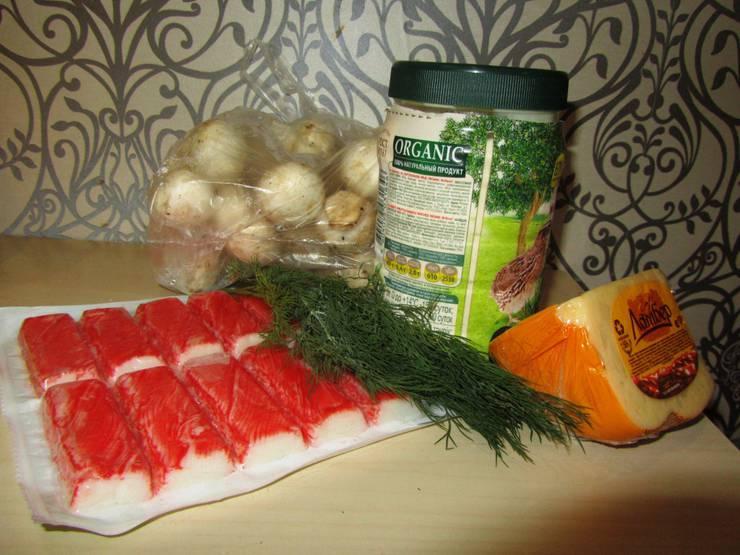 Рецепты фаршированных шампиньонов