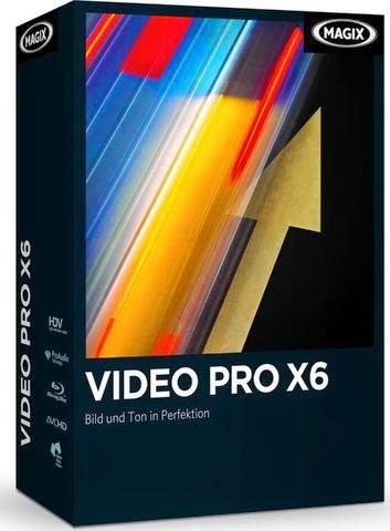 Download MAGIX Video Pro X6 + Crack