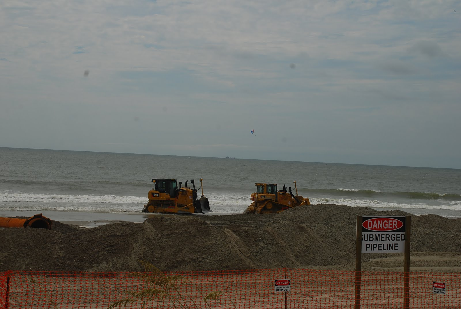 Officials Can T Pinpoint An Exact Date When The Work Will Reach Beach By Ocean Lakes