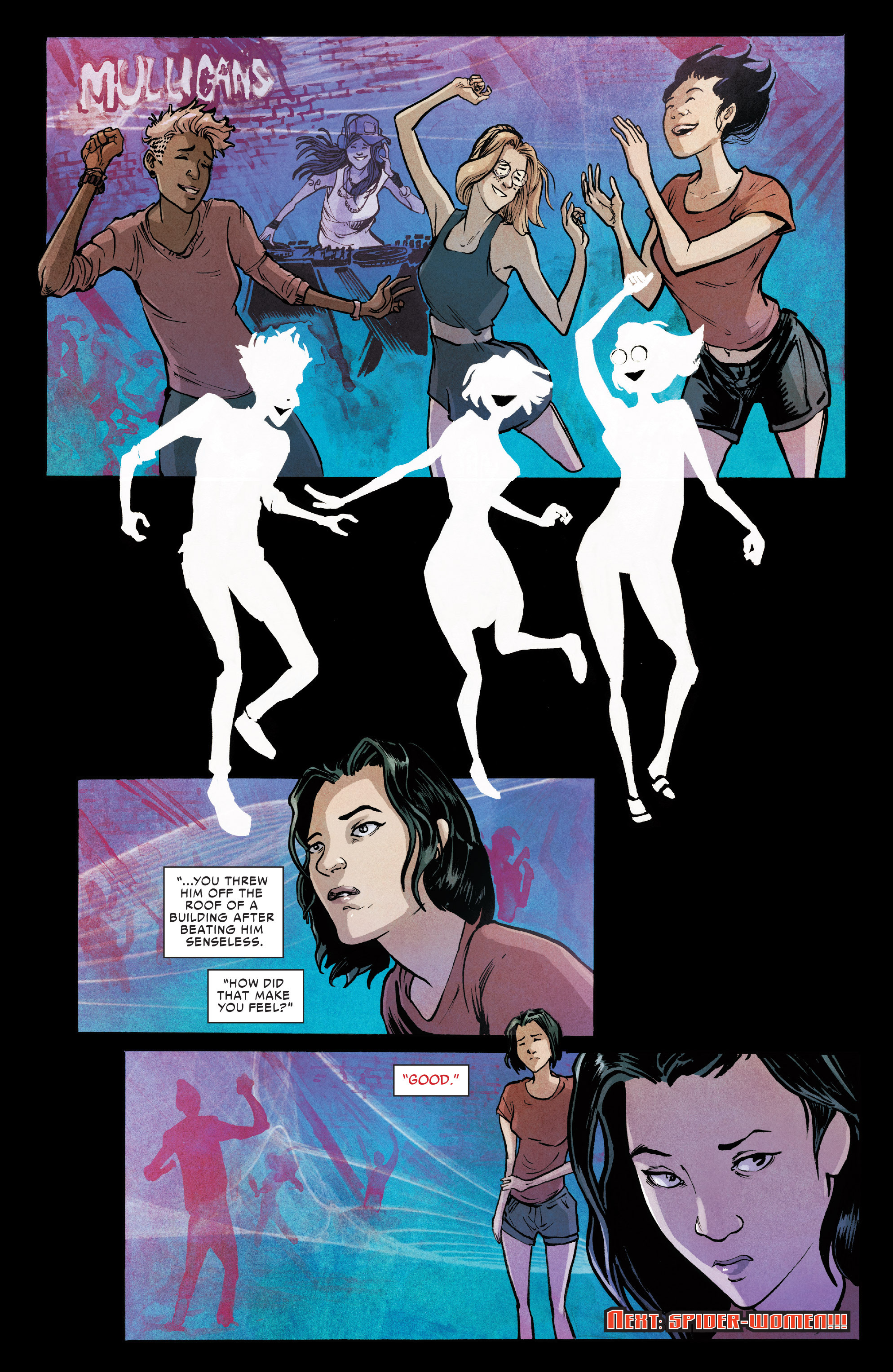 Read online Silk (2016) comic -  Issue #6 - 22