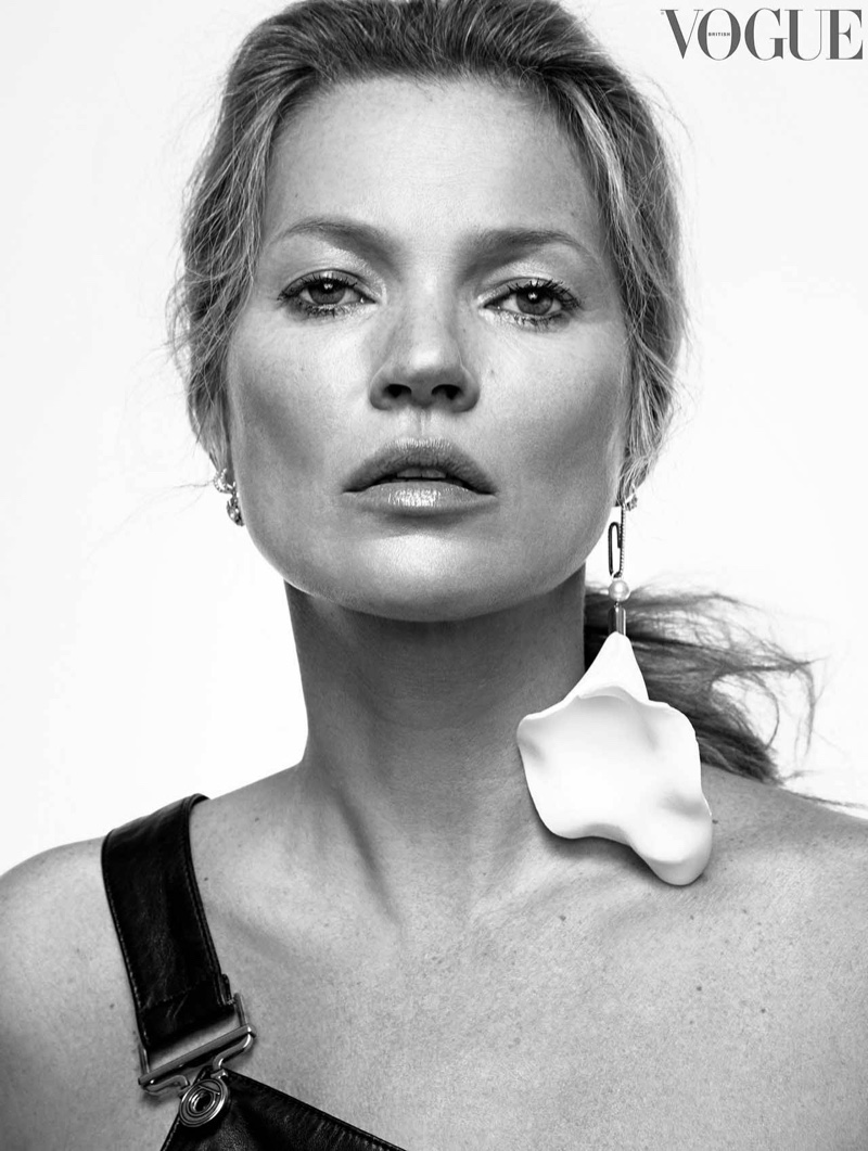 Kate Moss for Vogue UK May 2019