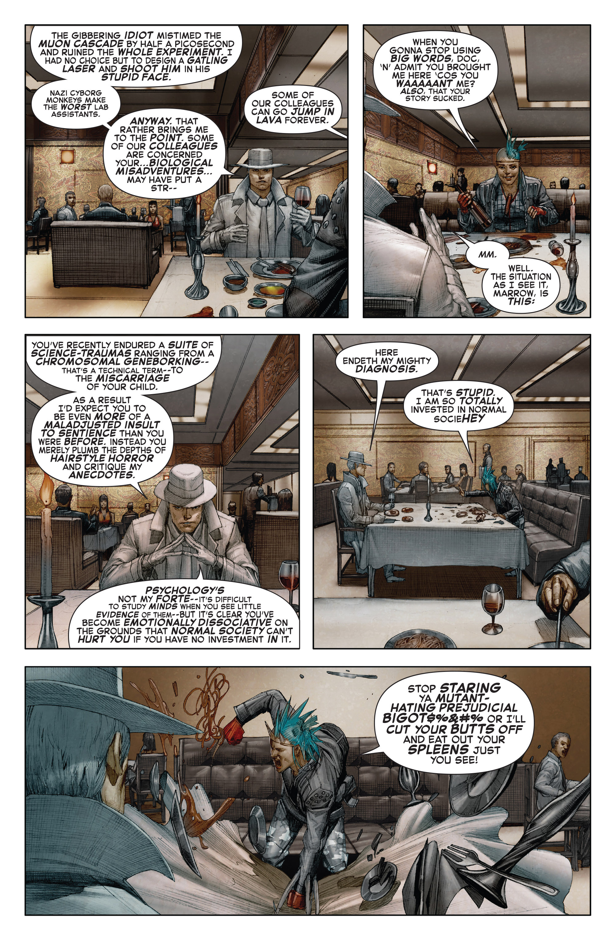 Read online X-Force (2014) comic -  Issue #7 - 9