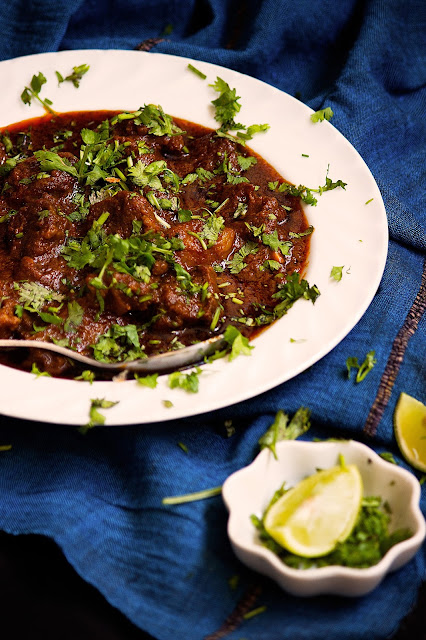 maharashtrian mutton sukha recipe