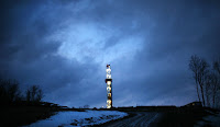 A hydraulic fracturing site in Springville, Penn. (Photograph Credit: Spencer Platt — Getty Images) Click to Enlarge.