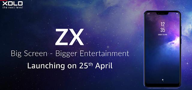 XOLO Launching - Xolo ZX Big Screen On 25 April