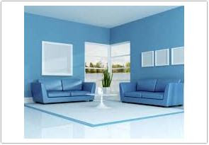 warna cat ruang tamu menurut feng shui biru
