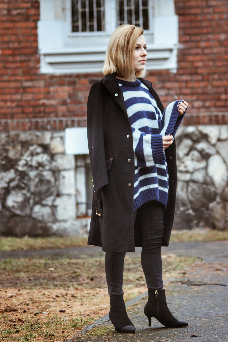 płaszcz zara w stylizacji