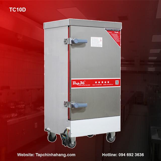 Tủ cơm 10 khay sử dụng điện TCD10-2018